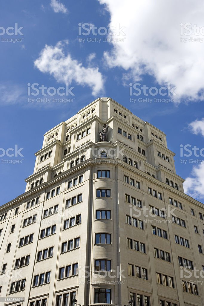Retro Buidling royalty-free stock photo