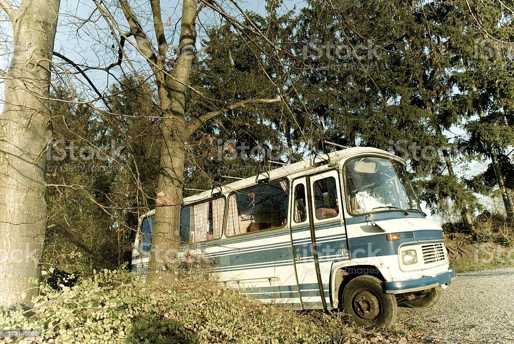 Retro Bus royalty-free stock photo
