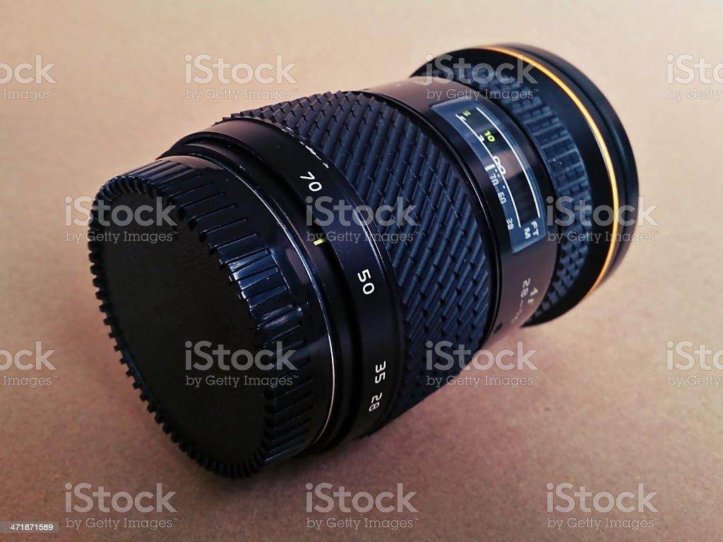 Retro Camera Lens royalty-free stock photo