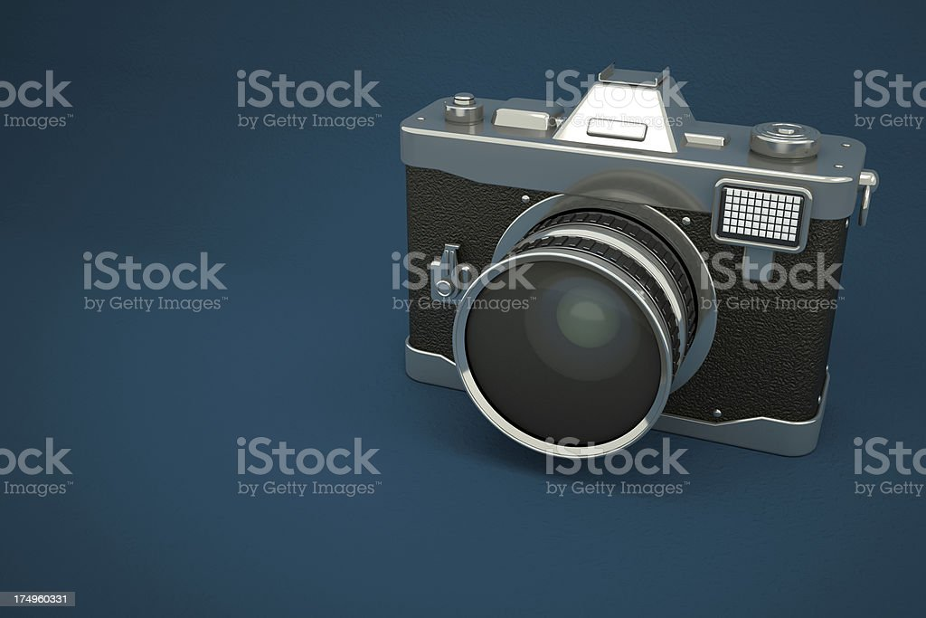 Retro Camera stock photo