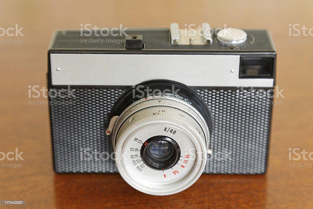 Retro camera XXXL size royalty-free stock photo