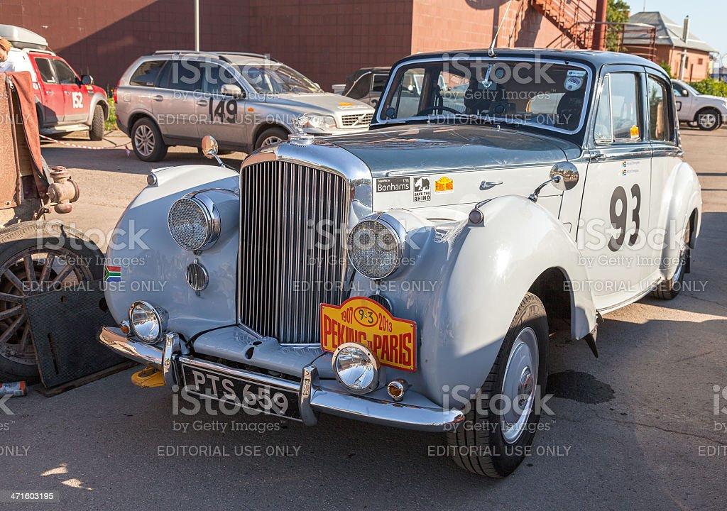 Retro car Bentley R Type 1953 year royalty-free stock photo