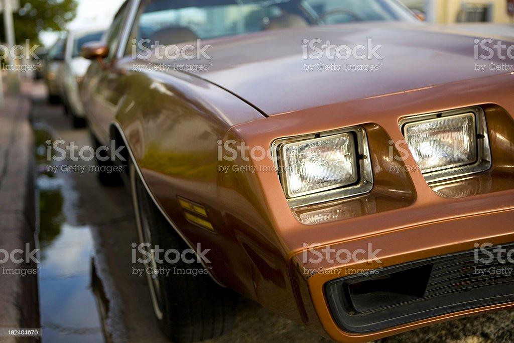 Retro car royalty-free stock photo