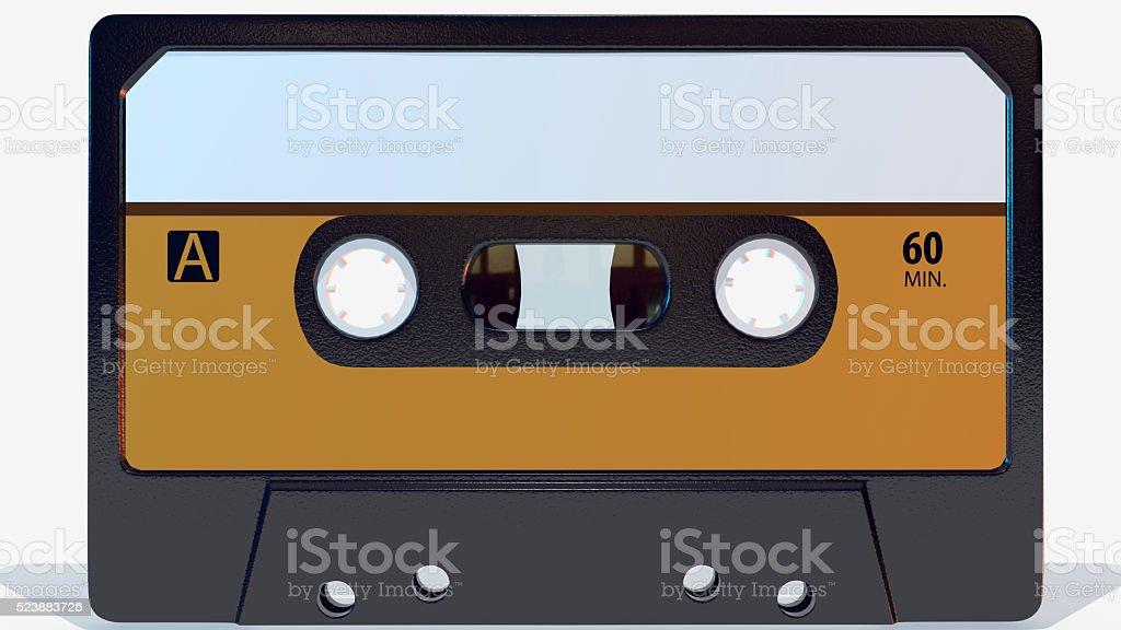 Retro Cassette stock photo