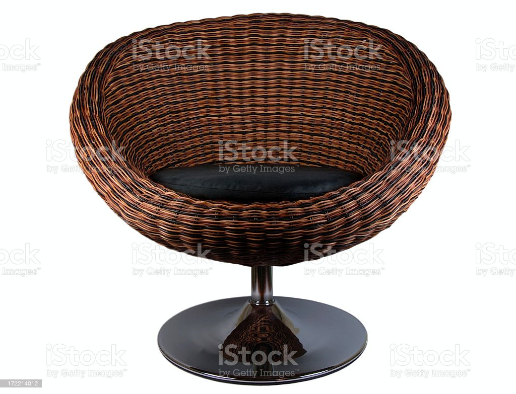 Retro chair royalty-free stock photo