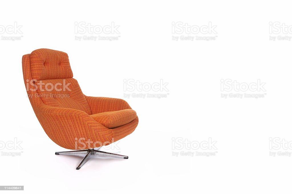 Retro chair two royalty-free stock photo