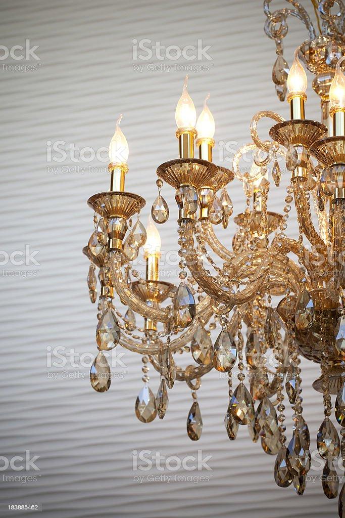 Retro Chandelier royalty-free stock photo