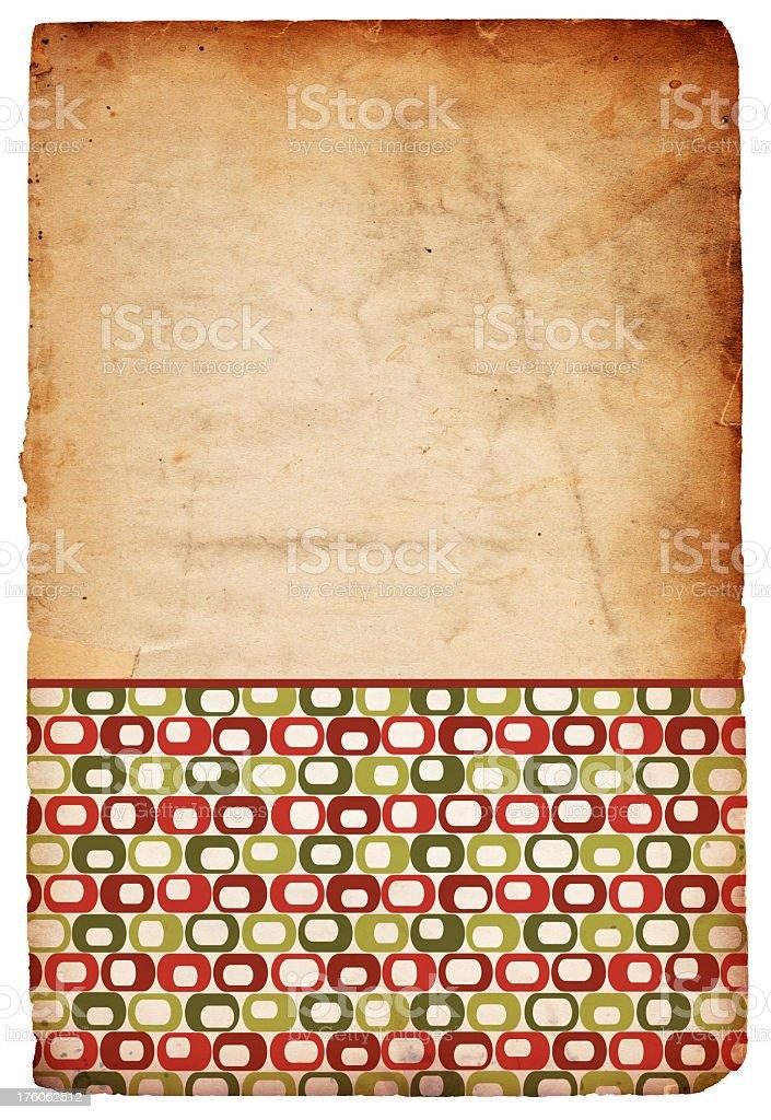 Retro Christmas Background stock photo