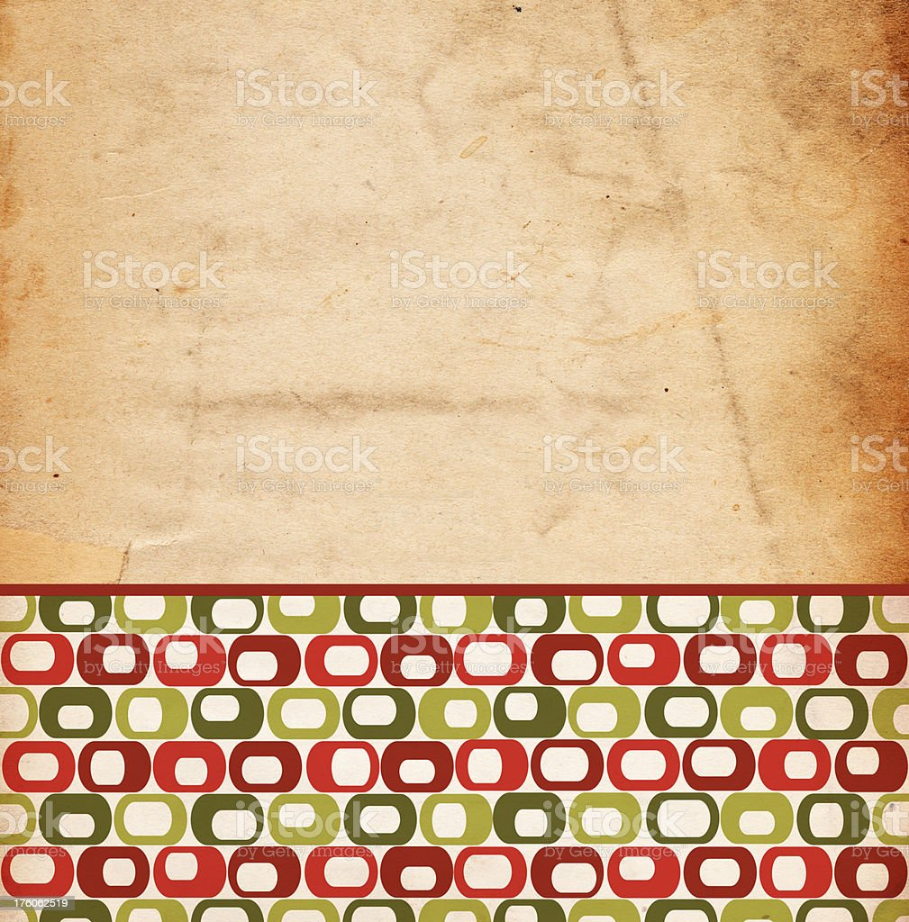 Retro Christmas Background royalty-free stock photo