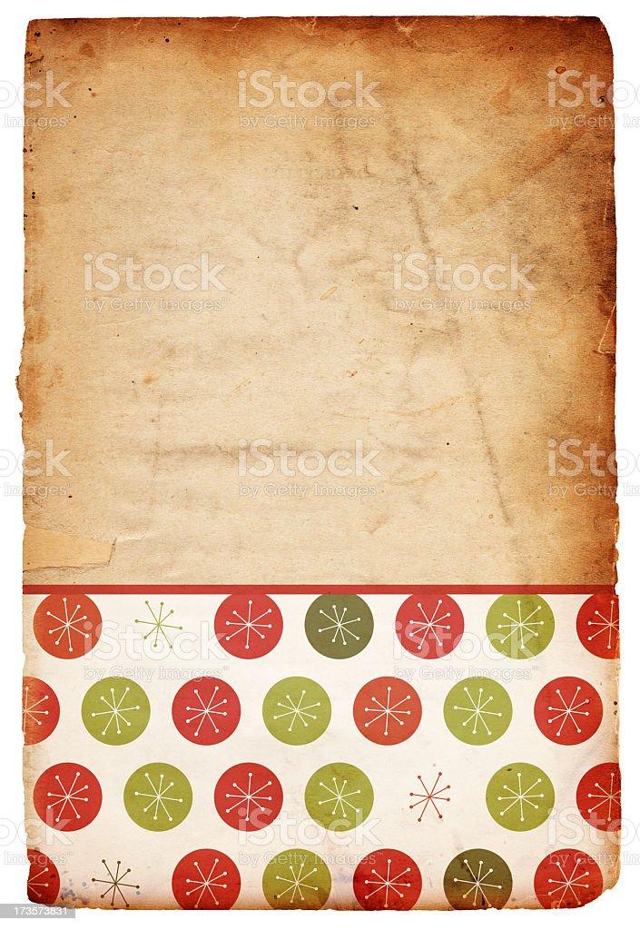 Retro Christmas Background XXXL royalty-free stock photo