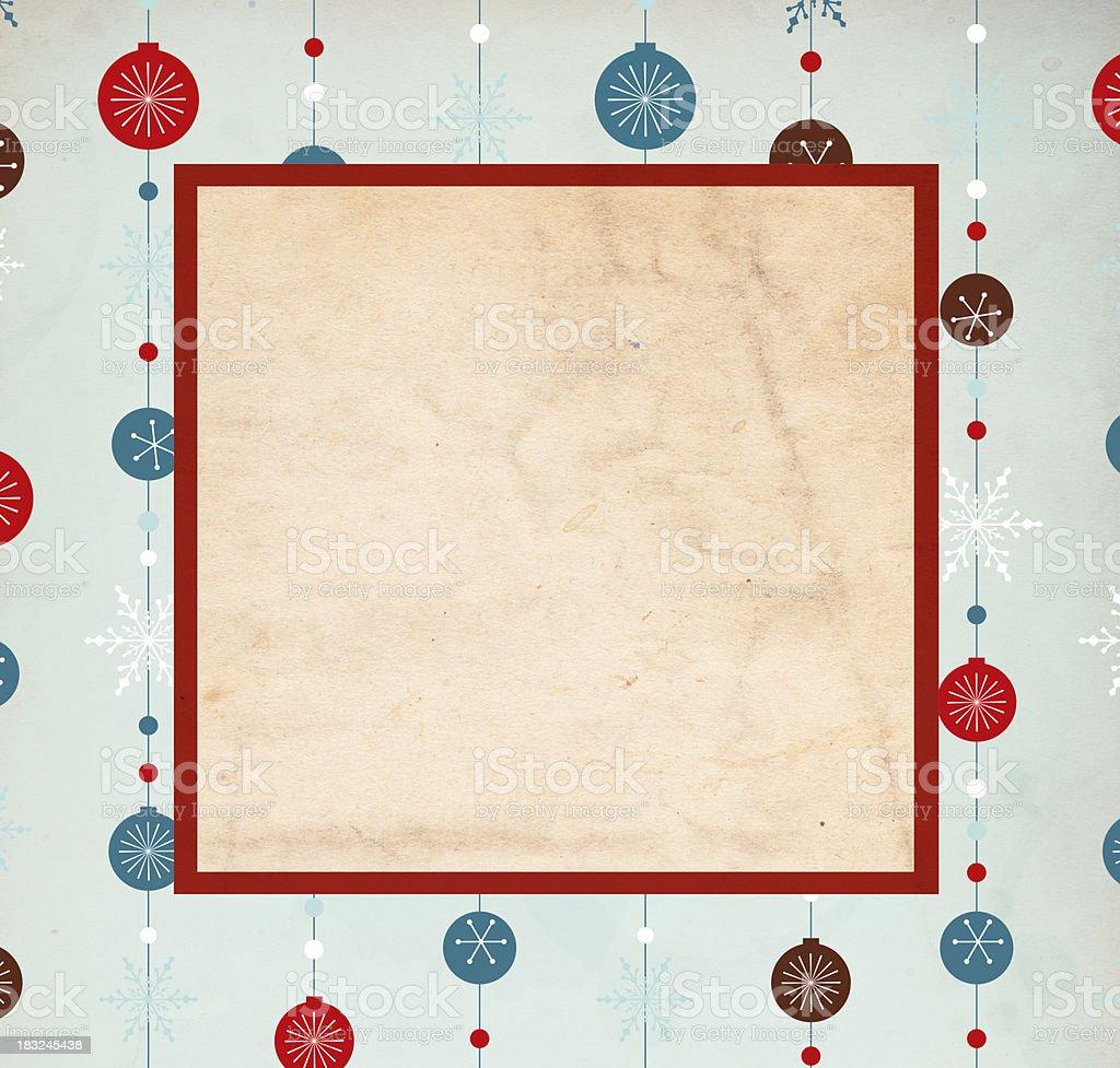 Retro Christmas Background - XXXL stock photo