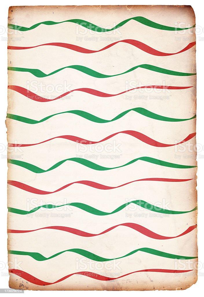 Retro Christmas Paper Background XXXL royalty-free stock photo