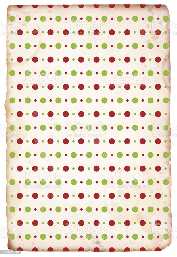 Retro Christmas Paper Background XXXL royalty-free stock photo