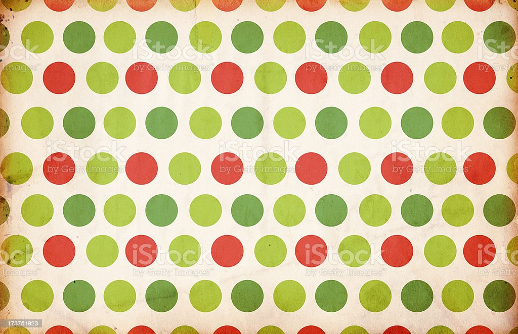 Retro Christmas Paper XXXL royalty-free stock photo
