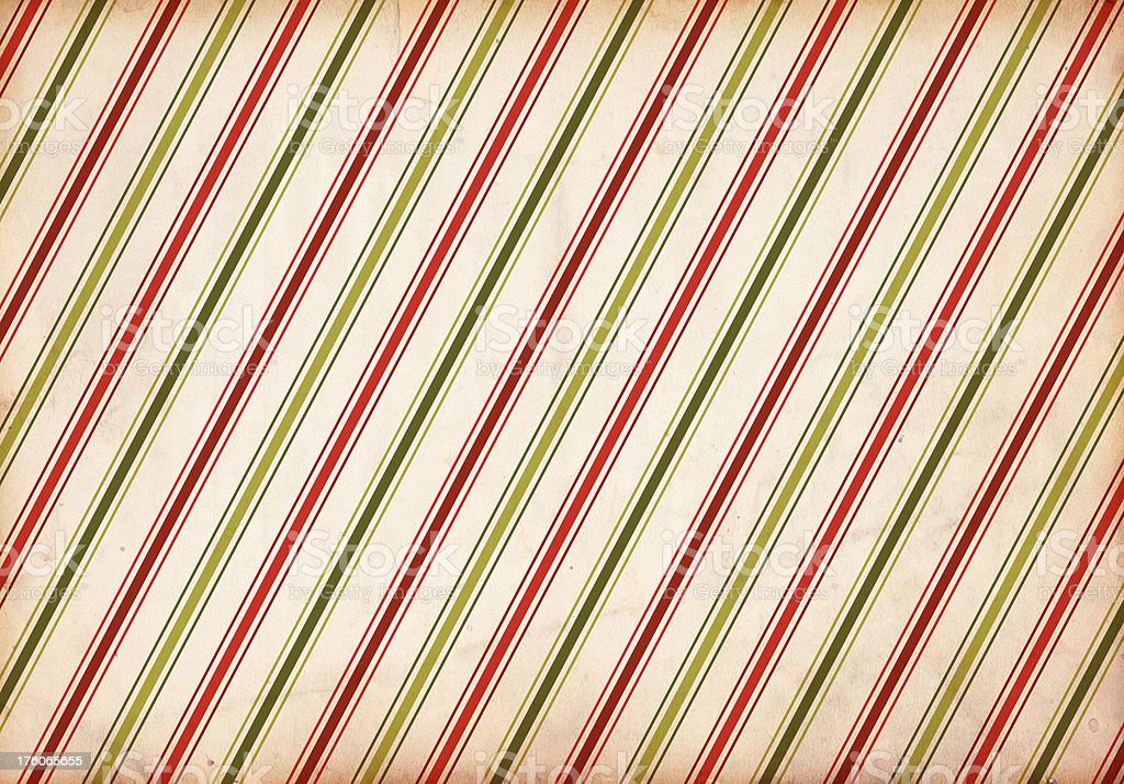 Retro Christmas Stripe Pattern Background royalty-free stock photo