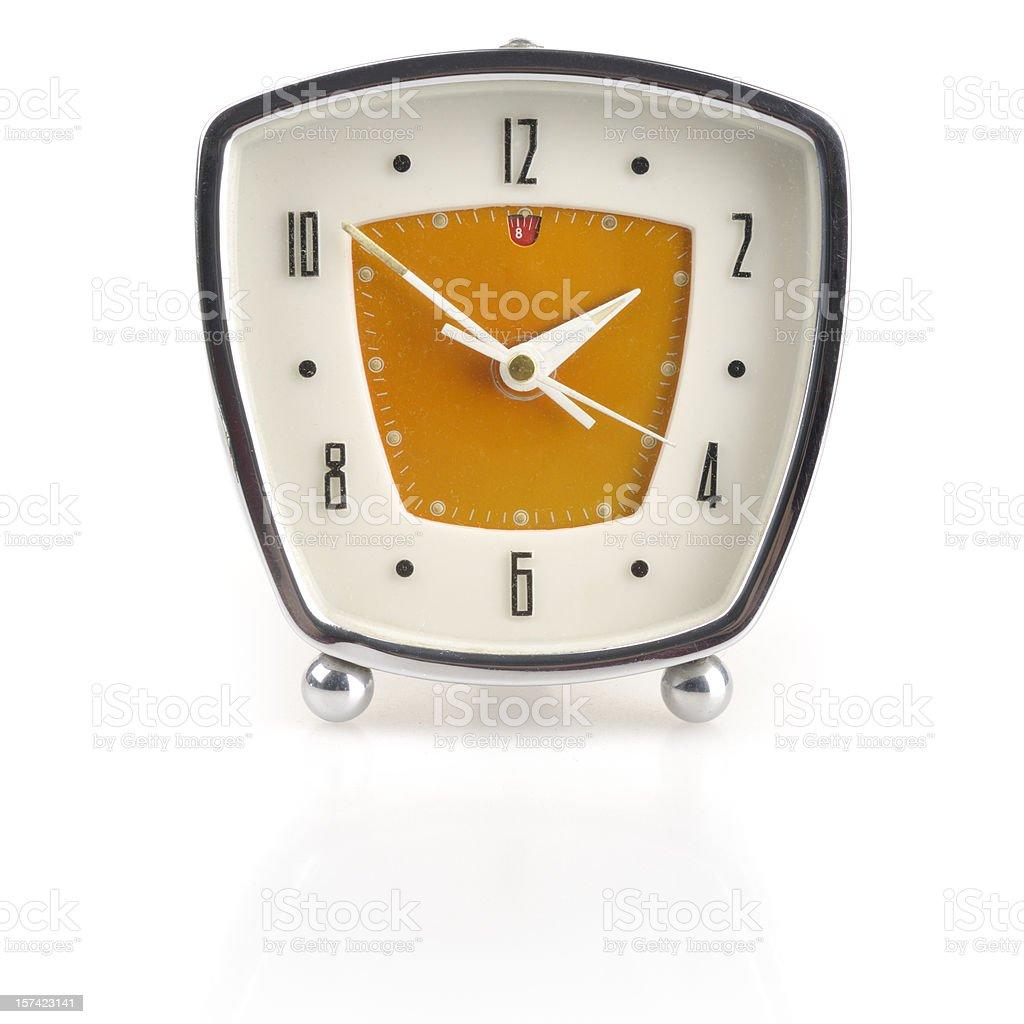 Retro Clock royalty-free stock photo