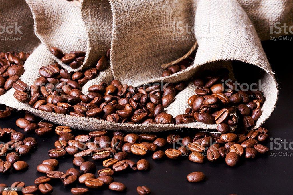 Retro coffee grinder stock photo