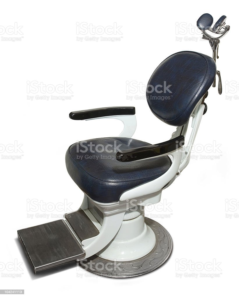 Retro Dentist Chair royalty-free stock photo
