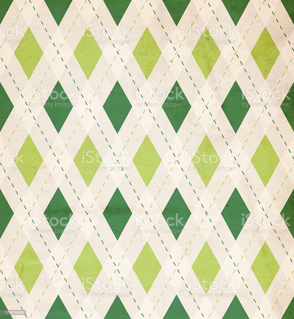 Retro Diamond St. Patrick's Background XXXL stock photo
