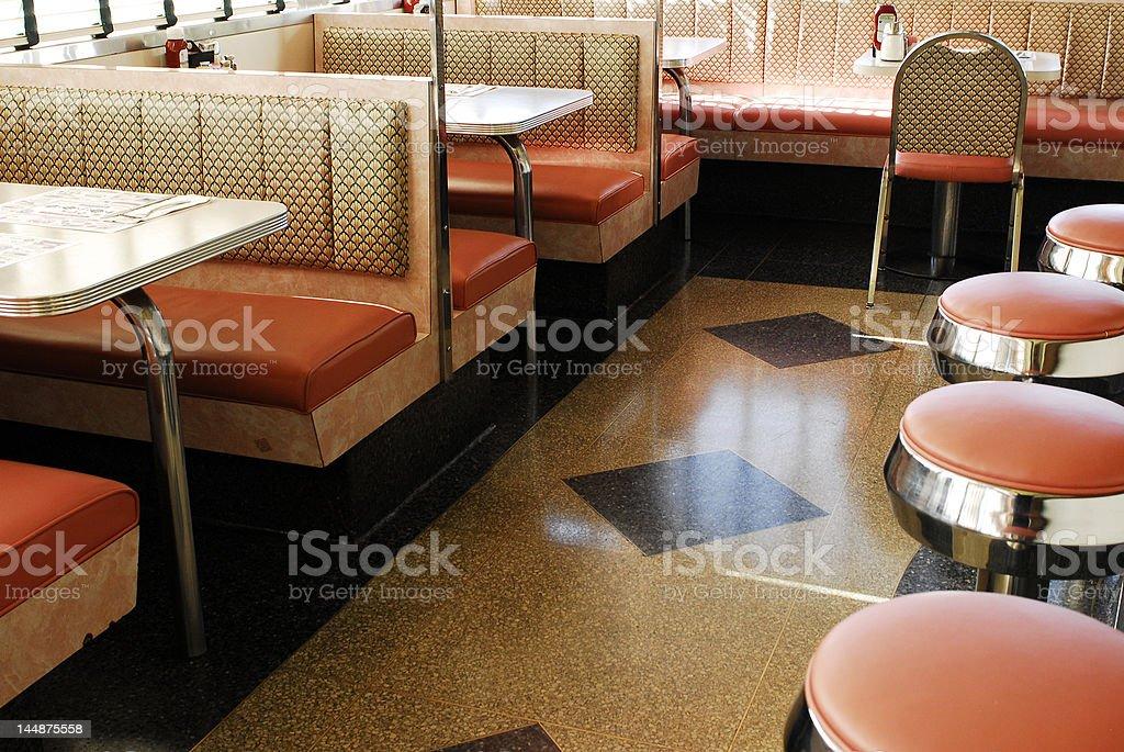 Retro Diner stock photo