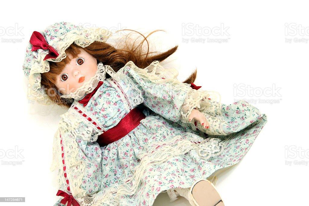 retro doll stock photo