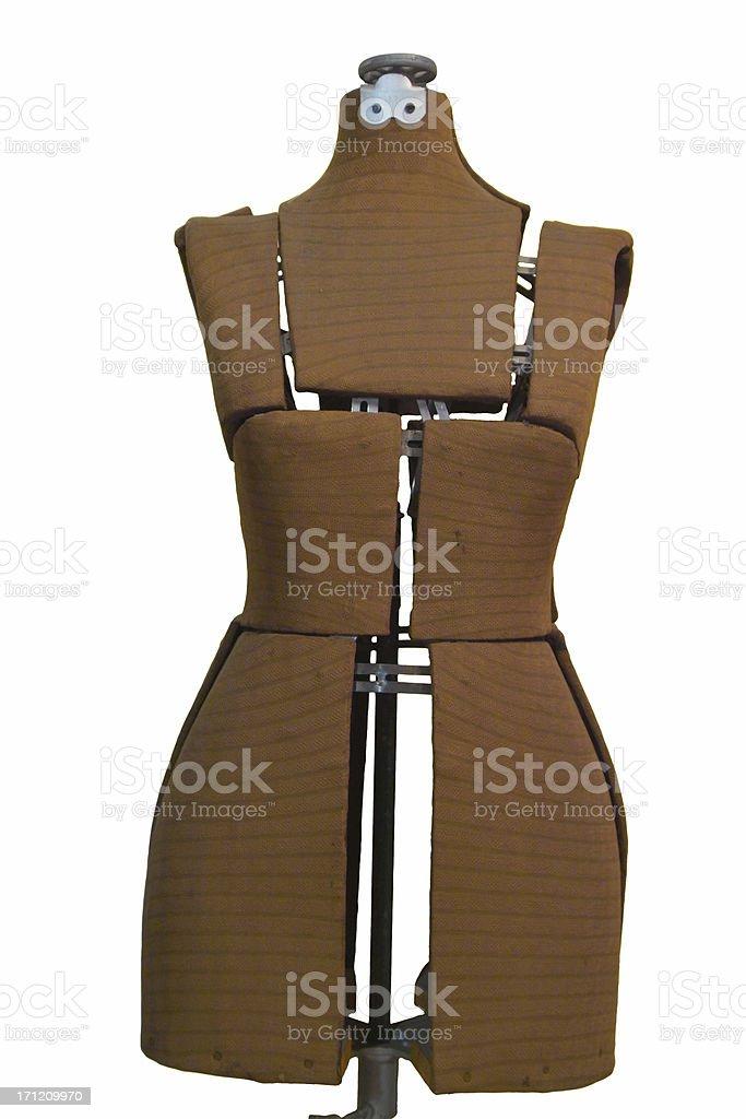 retro dress model stock photo