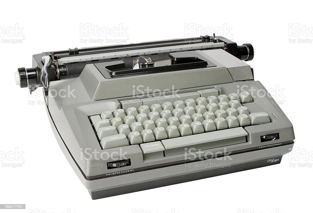 Retro Electric Typewriter royalty-free stock photo