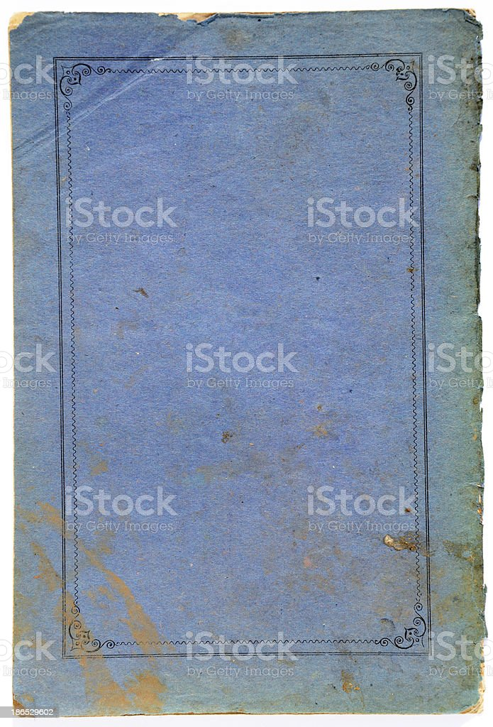 retro exercise book cover background royalty-free stock photo