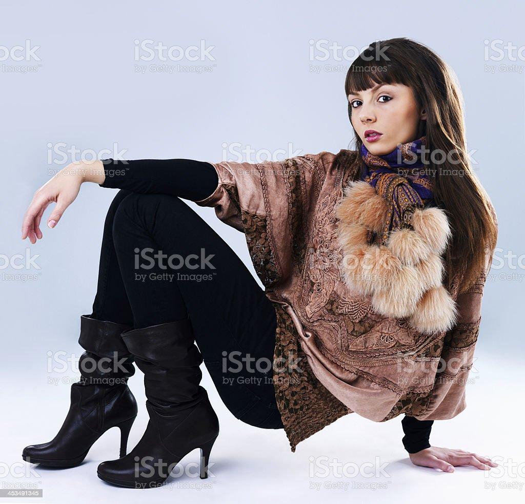 Retro fashion royalty-free stock photo