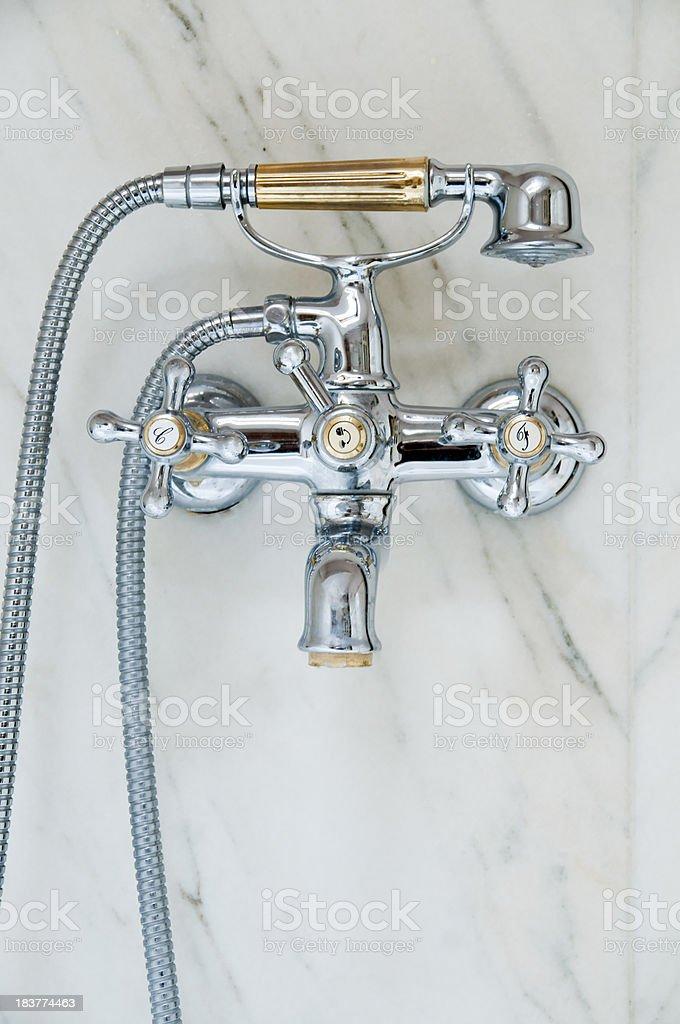 Retro del rubinetto foto stock royalty-free