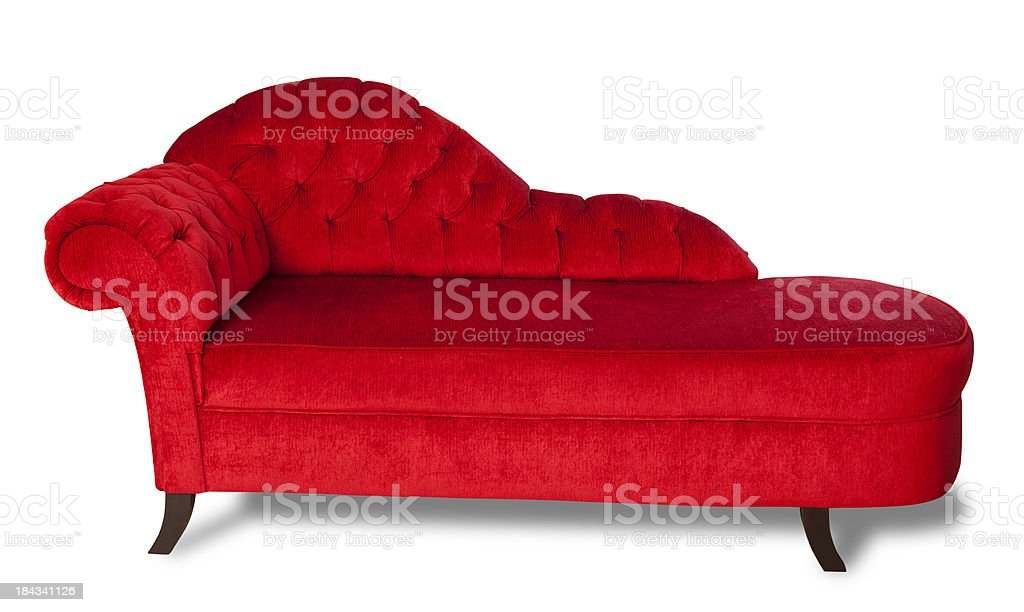 Retro Furniture with Clipping Path stock photo