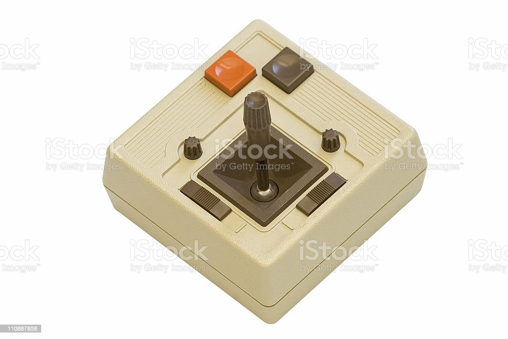 Retro Gaming Joystick royalty-free stock photo
