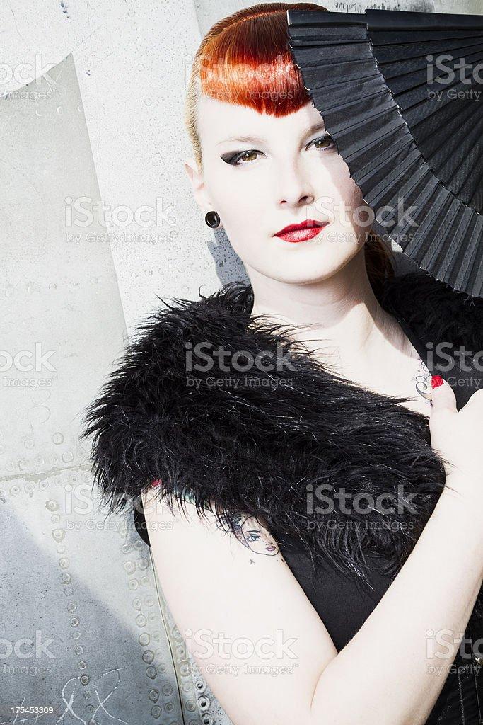 retro glamour stock photo