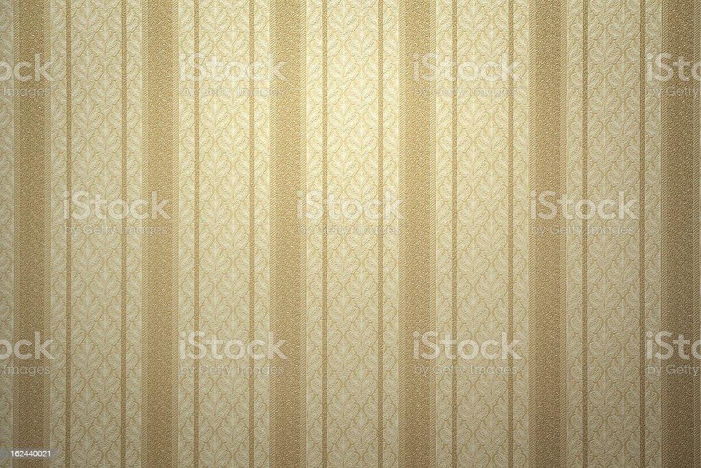 Retro gold wallpaper stock photo