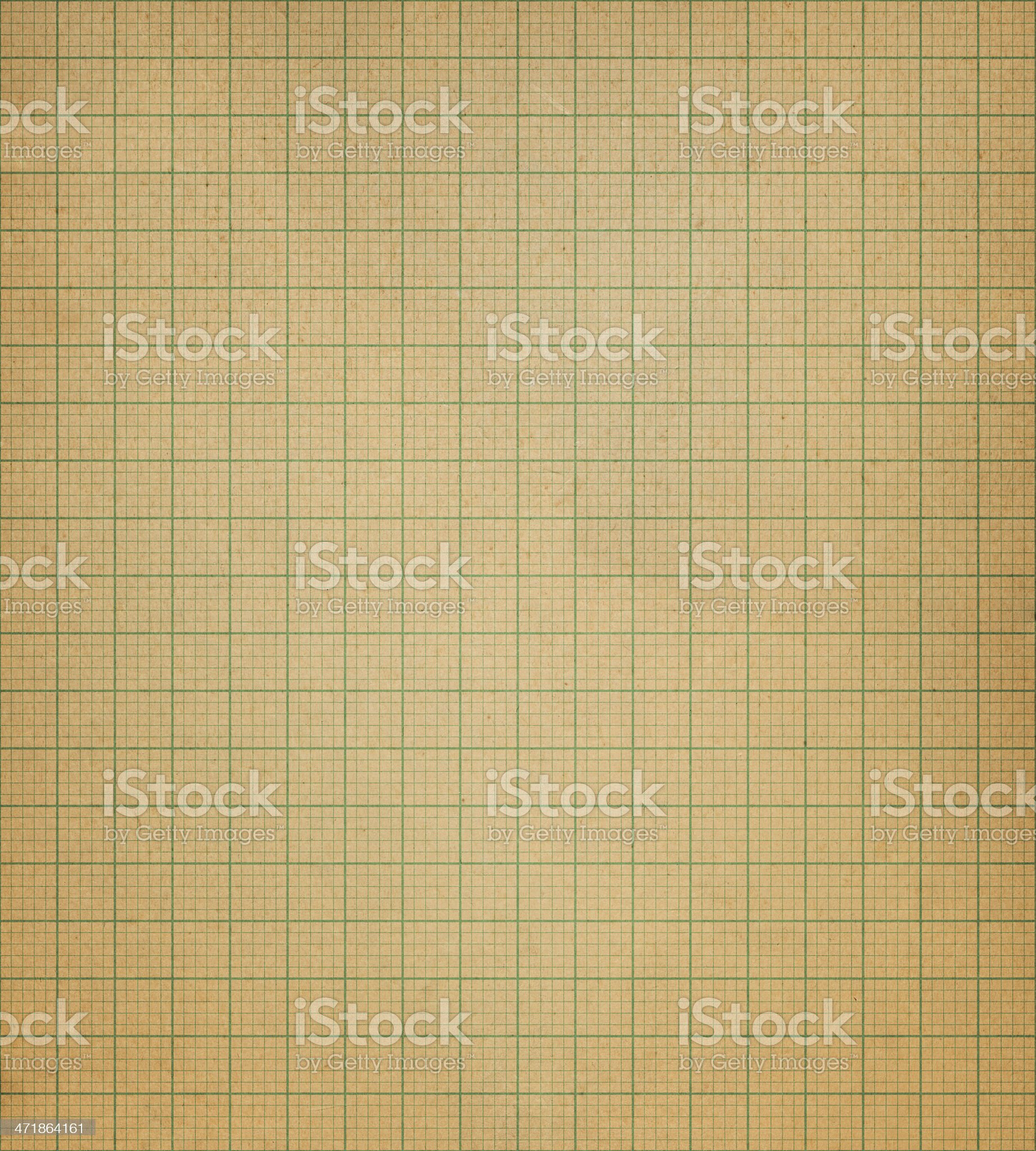 retro graph paper with green lines royalty-free stock vector art