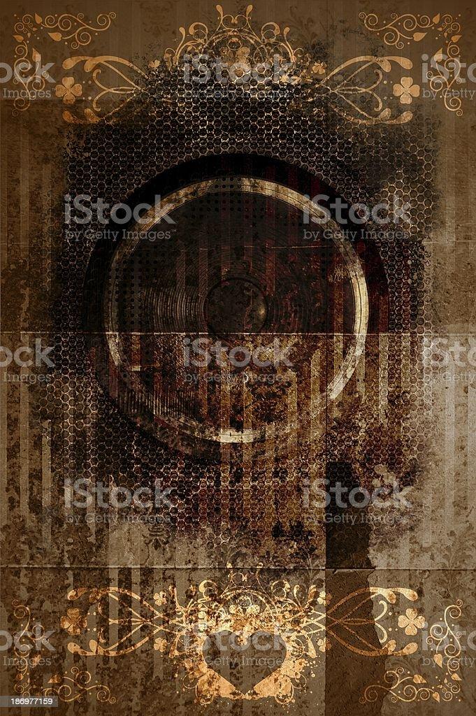 Retro Grunge Background stock photo