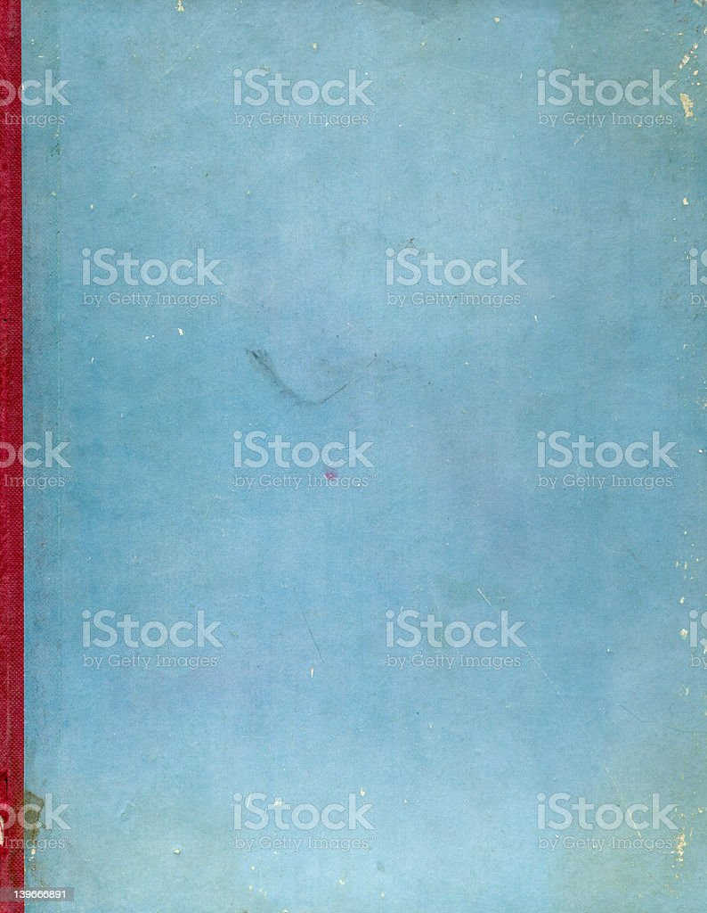retro grunge book cover royalty-free stock photo
