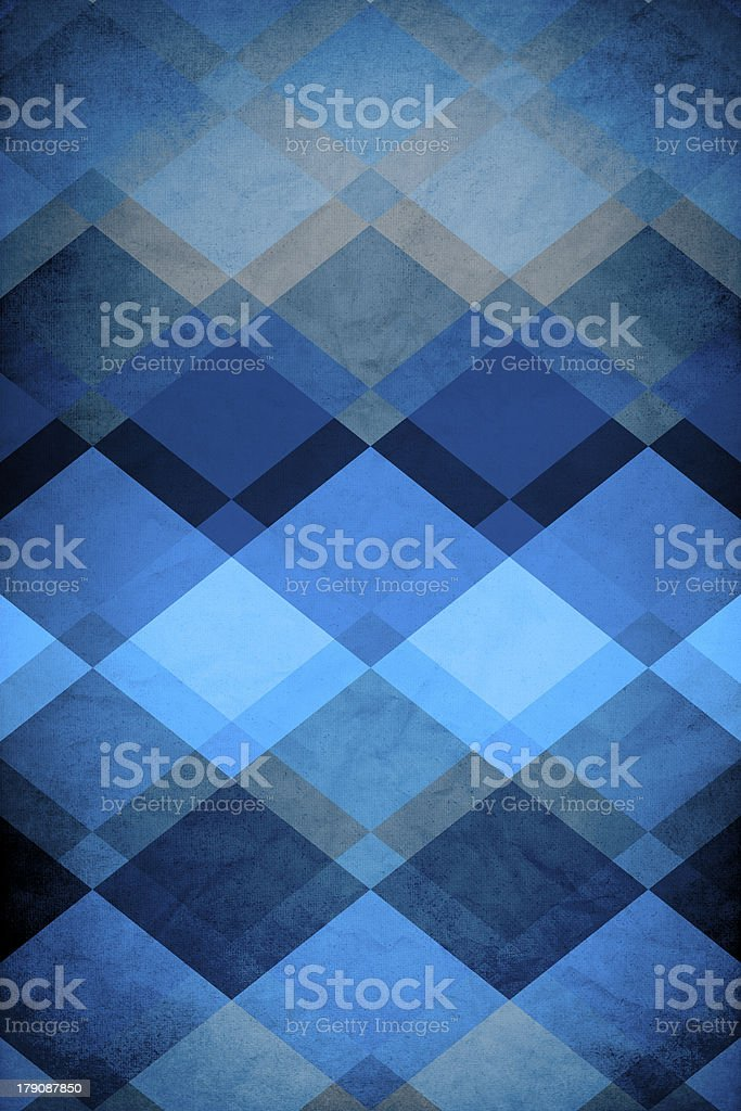 Retro Grungy Pattern royalty-free stock photo