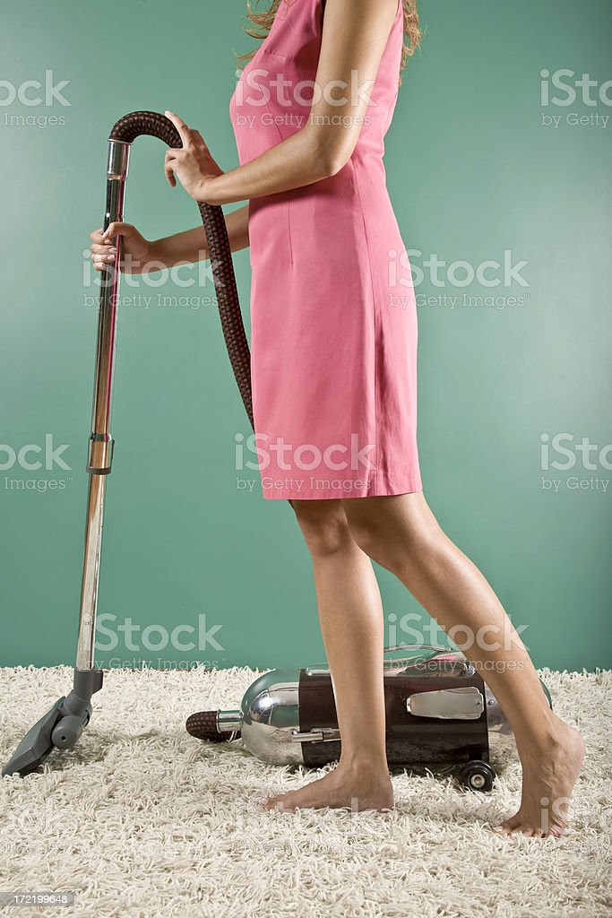Retro Housewife royalty-free stock photo