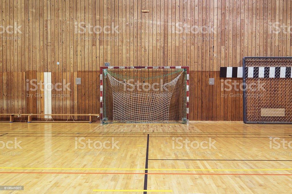 Retro Indoor Soccer Goal stock photo 513541022 | iStock