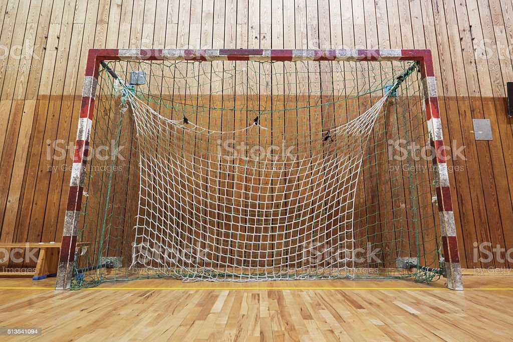 Retro Indoor Soccer Goal stock photo 513541094 | iStock