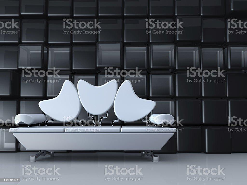 Retro Interior royalty-free stock photo