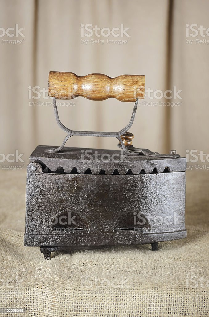 Retro Iron stock photo