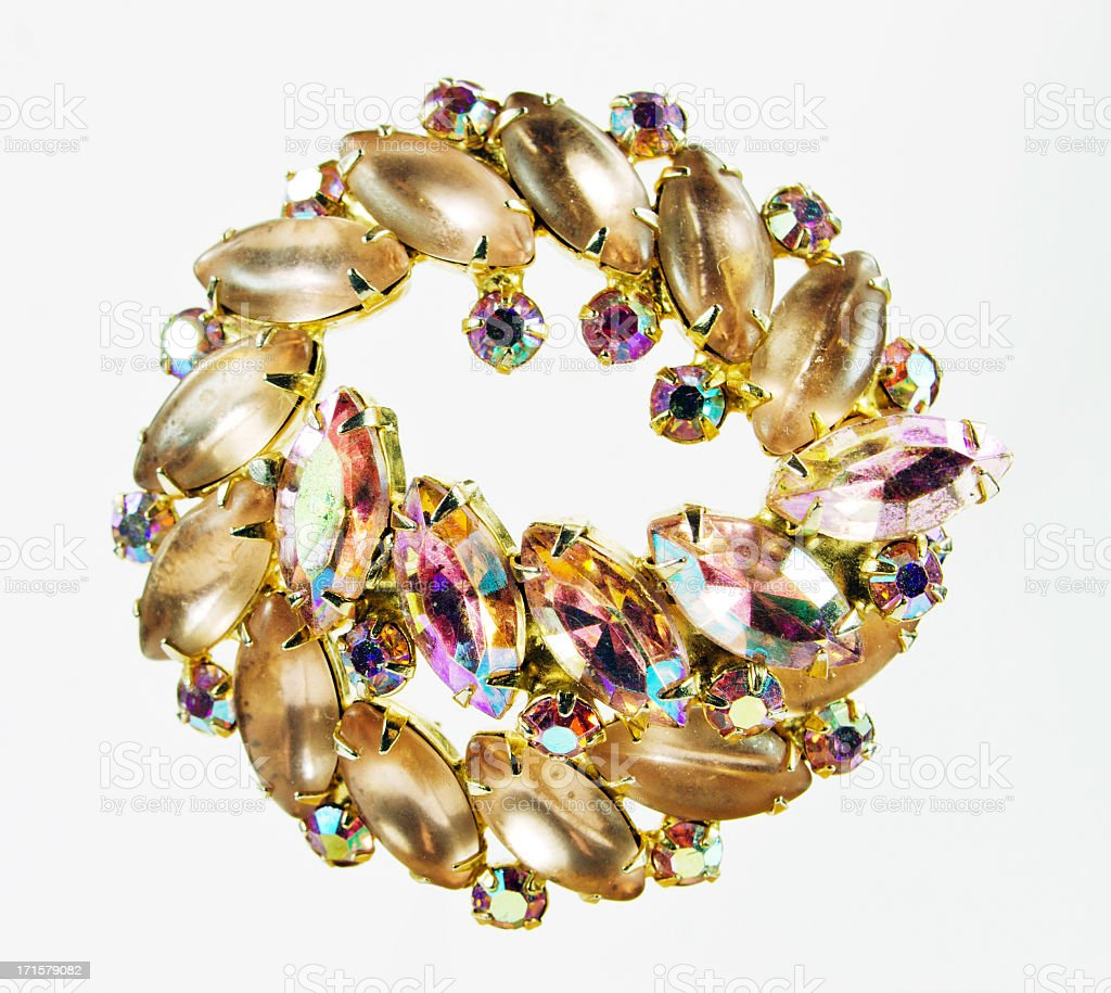Retro Jewelry stock photo