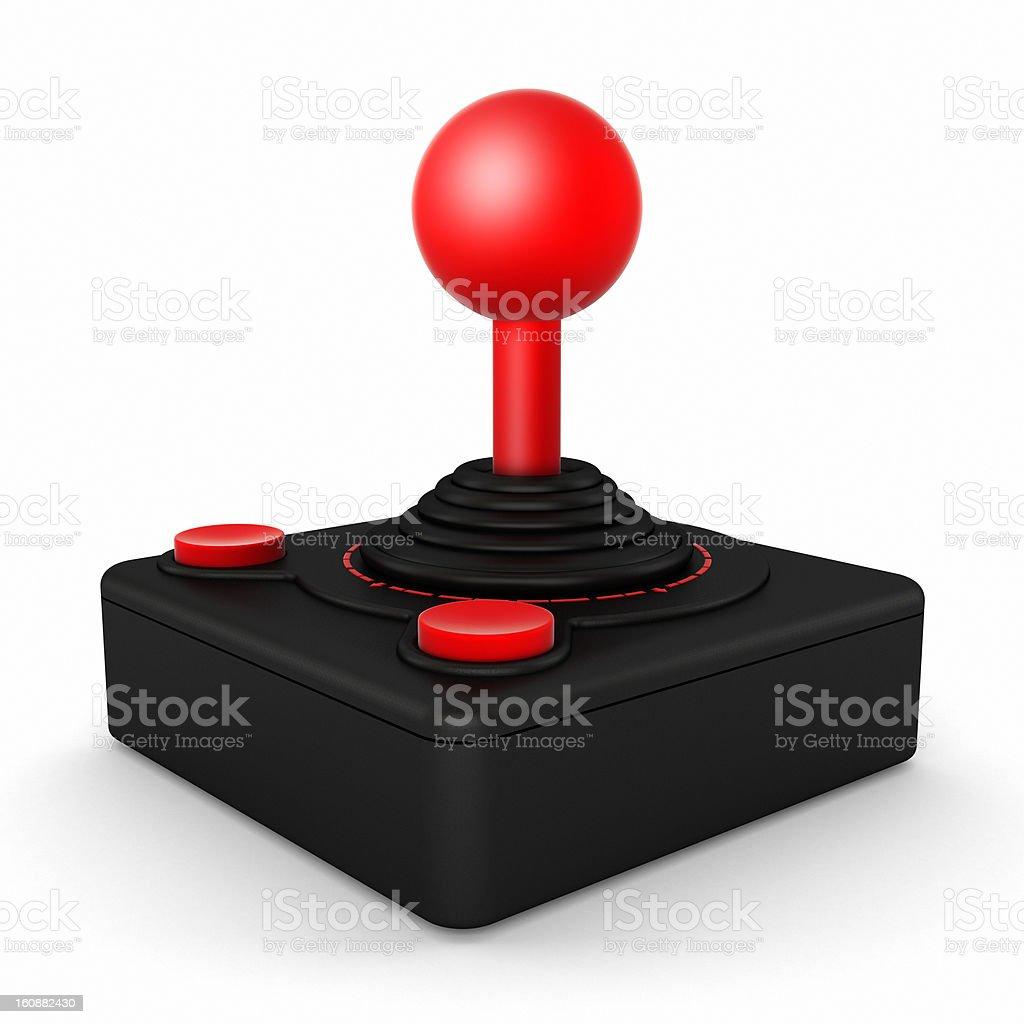 Retro joystick royalty-free stock photo