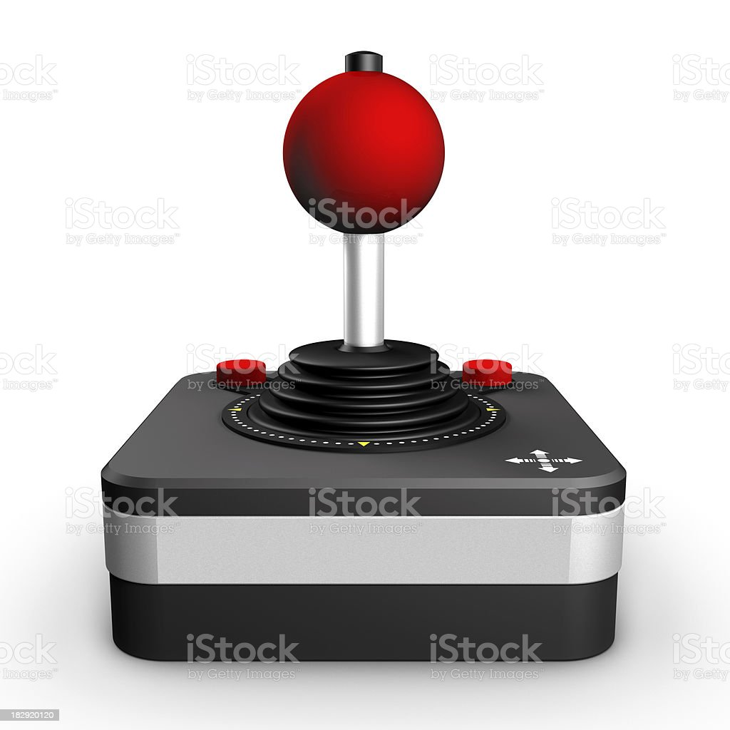 Retro Joystick royalty-free stock photo