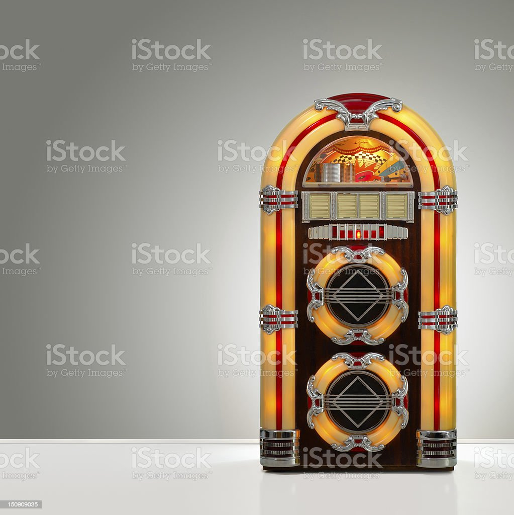 Retro Jukebox stock photo