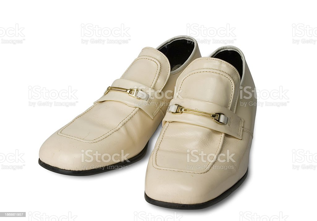 Retro Liesure Shoes royalty-free stock photo