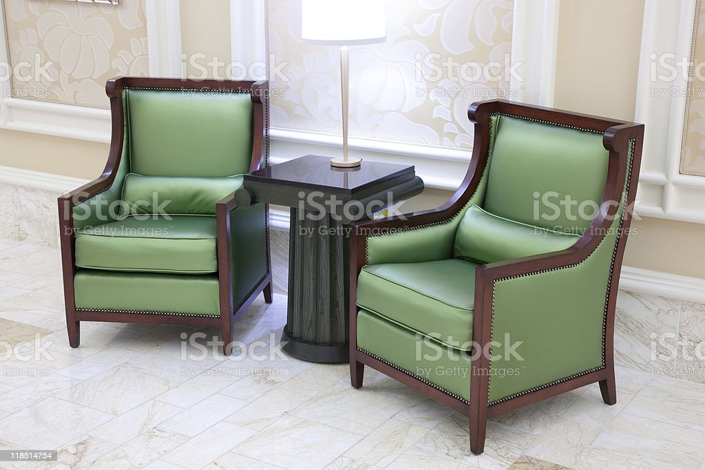 Retro living room royalty-free stock photo