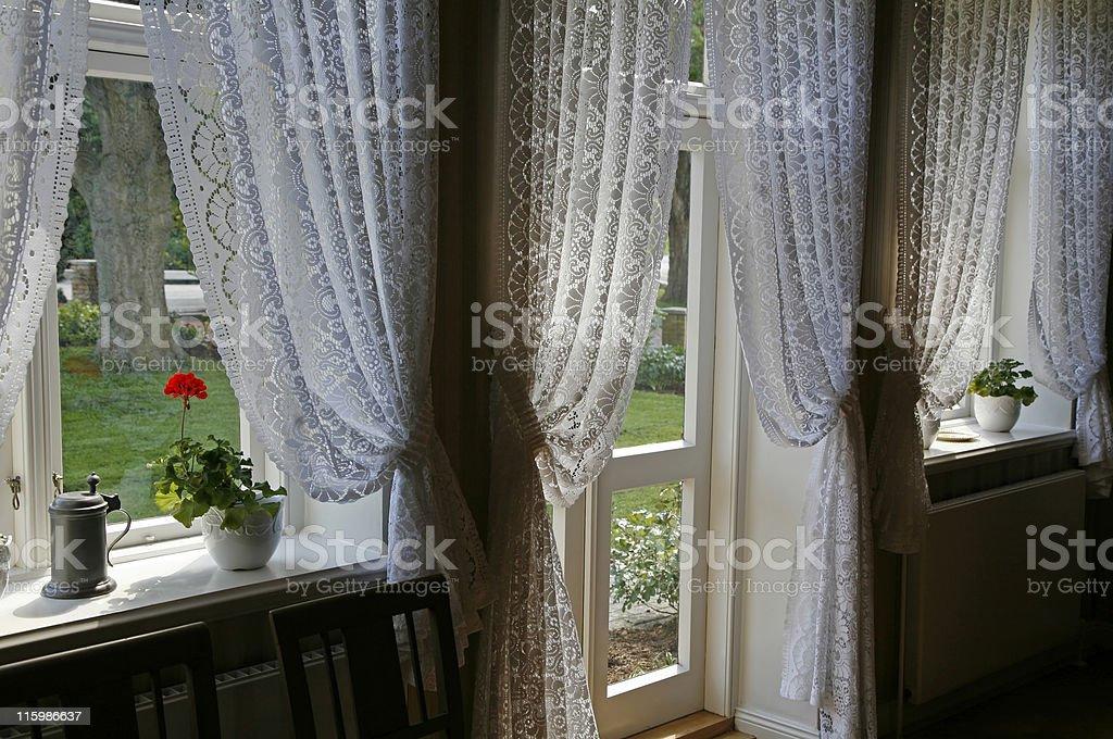 Retro livingroom stock photo